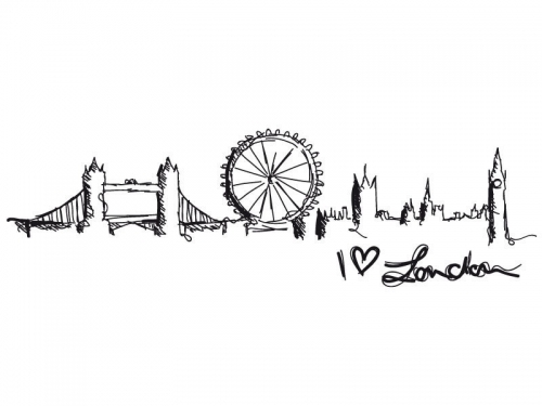 Line Drawing Tattoo Artists London : Viagens fumo nos lábios